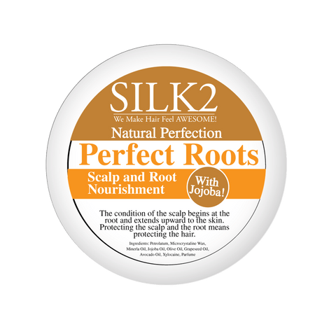 "SILK2 Natural Perfection ""Perfect ROOTS"" Scalp Nourishment  Natural Perfection - Natural Hair Care - NaturallySILK2"