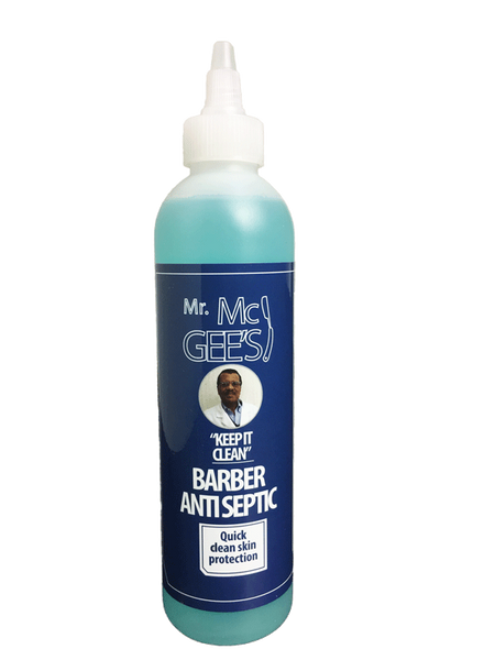 "Mr. McGees ""Keep it Clean"" BARBER ANTISEPTIC  Antisceptic - Natural Hair Care - NaturallySILK2"