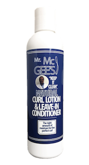 "Mr. McGee's ""Keep it Clean"" Natural Curl Lotion & Leave-In Conditioner  Conditioner - Natural Hair Care - NaturallySILK2"