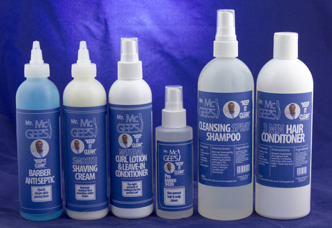 "Mr. McGee's ""Keep It Clean"" set   - Natural Hair Care - NaturallySILK2"