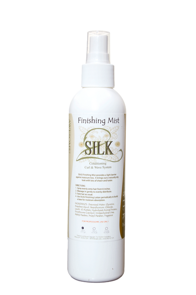 SILK2 Finishing Mist  Curl system - Natural Hair Care - NaturallySILK2