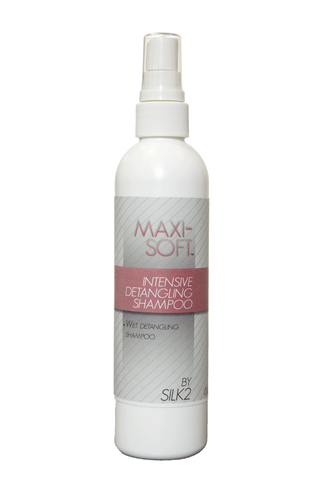 """SILK2 Maxi-Soft Intensive Detangling Shampoo""  Maxi-Soft Ultimate Detangling System - Natural Hair Care - NaturallySILK2"