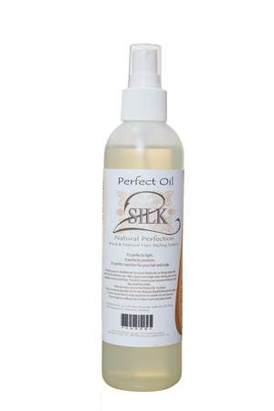 "SILK2 Natural Perfection ""Perfect Oil""  Natural Perfection - Natural Hair Care - NaturallySILK2"