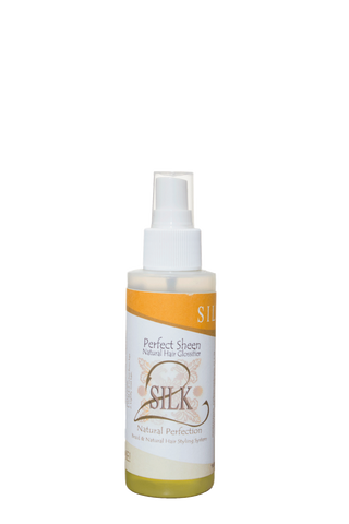 "SILK2 Natural Perfection ""Perfect Sheen  Natural Perfection - Natural Hair Care - NaturallySILK2"