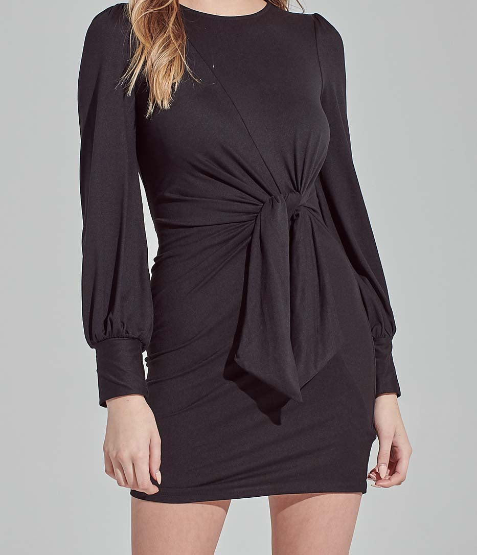 Black Alex Bodycon Dress