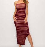 Plum Nisha Midi Dress