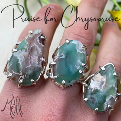 All About Chrysoprase! (and 3 reasons to give it to someone!)