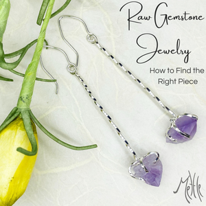 What is Raw Gemstone Jewelry (and 5 Must Haves for Raw Gemstone Jewelry)