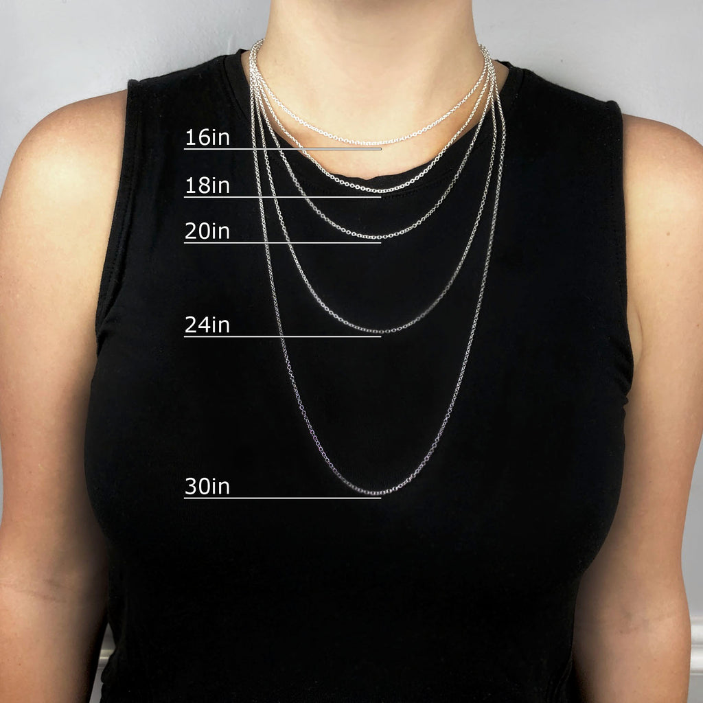What Length Chain Do I Need? // Men's and Women's Guide to Chain Length