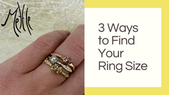 3 Ways to Find Your Ring Size