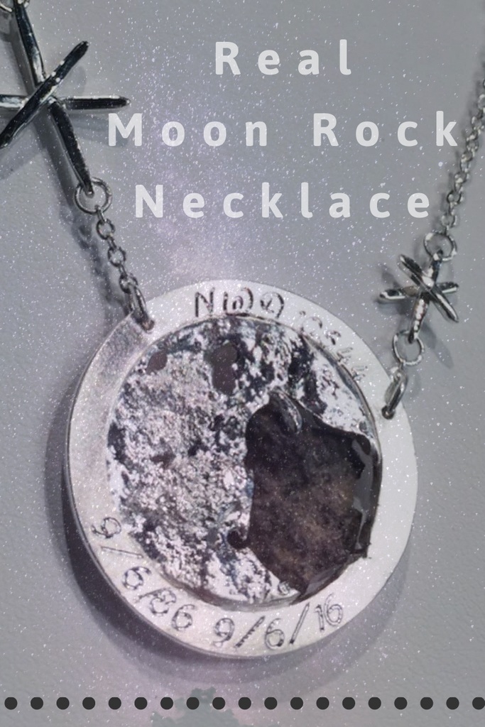 Moon Rock Necklace!
