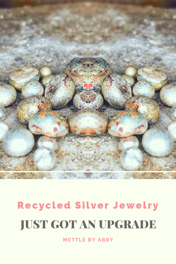 """SUPER"" Recycled Silver Jewelry"