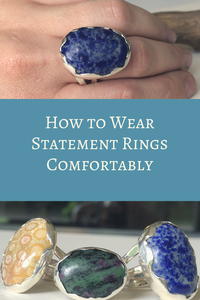 How to Wear Statement Rings Comfortably