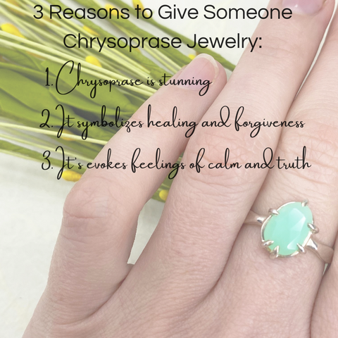 3 reasons to give chrysoprase