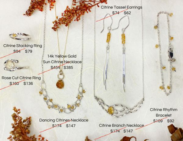 Mettle by Abby Citrine November birthstone first look prices
