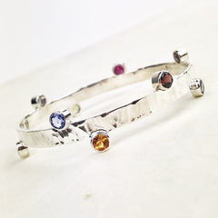 Grandmother Bangle Birthstones Mettle by Abby