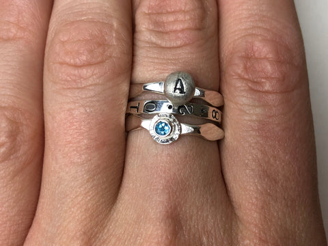 Stackable Mother's Rings