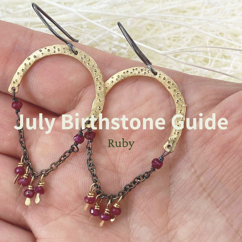 July Birthstone Guide Mettle by Abby