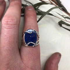 Lapis Ring Mettle by Abby