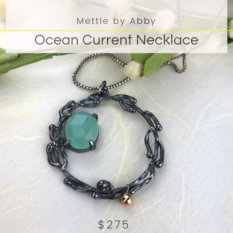 Mettle by Abby Ocean Current Necklace