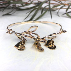 Mothers Gold Branch Bracelet Mettle by Abby