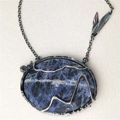 Nature Necklace Mettle by Abby
