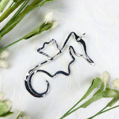 Seahorse Necklace Mettle by Abby