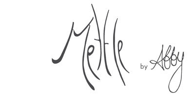 Mettle is a hand made hand forged line of jewelry designed and produced by Abigail Fincannon.
