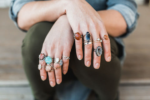 Mettle by Abby Stacking Rings
