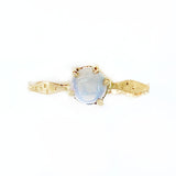 14k Blue Nebula Opal Star Dust Ring