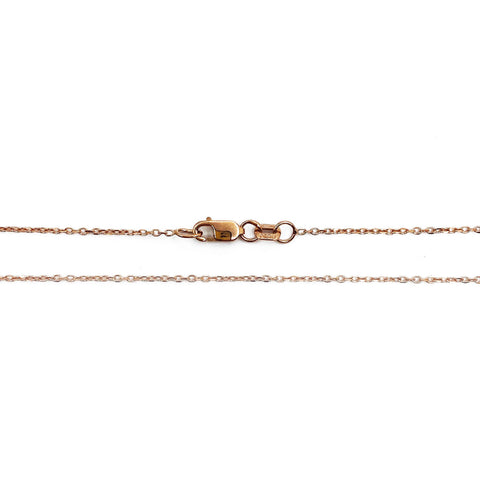 14k Rose Gold Dainty Chain