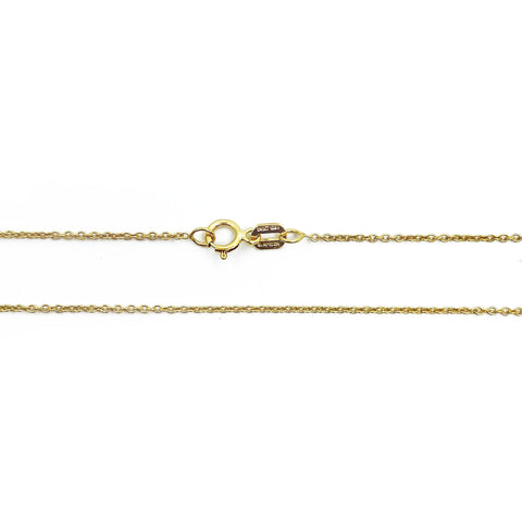 14k Yellow Gold Dainty Chain