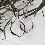 14k Rose Gold Drop Earrings - Mettle by Abby