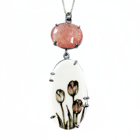 Acropolis Tulip Necklace
