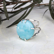 Amazonite Index Finger Ring - Mettle by Abby