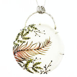 Autumn Fern Statement Necklace