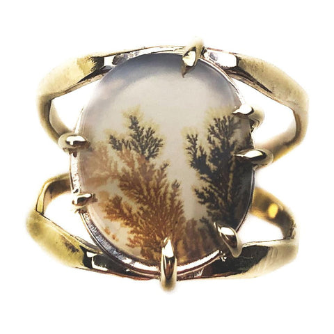 14K Autumn Echo Ring - Mettle by Abby
