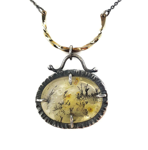 Forest Nocturne Necklace - Mettle by Abby