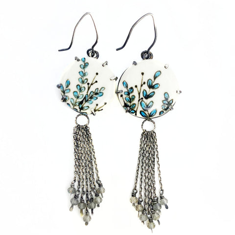 Blue Elusion Earrings