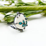 Blue Elusion Ring