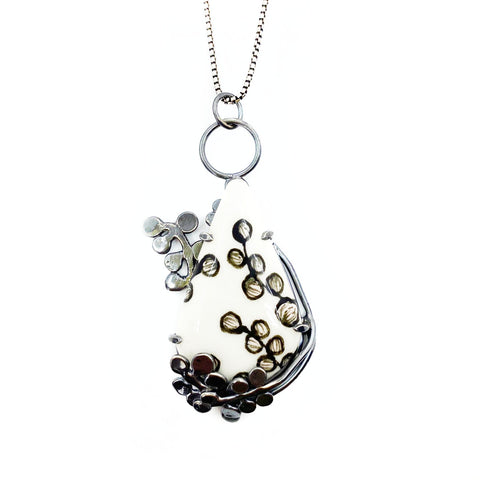Bubble Fern Necklace