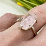 Claw Prong Morganite Ring