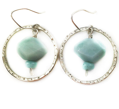 Cloud Watcher Earrings - Mettle by Abby