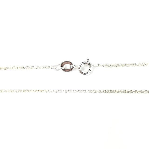 Dainty Silver Cable Chain - Mettle by Abby