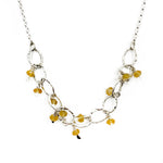Dancing Citrine Necklace