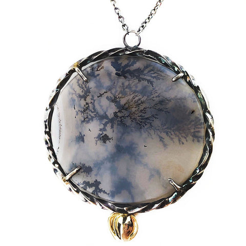 Dendrite Looking Glass Necklace - Mettle by Abby