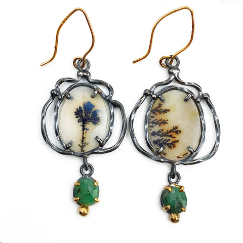 Emerald Victory Earrings