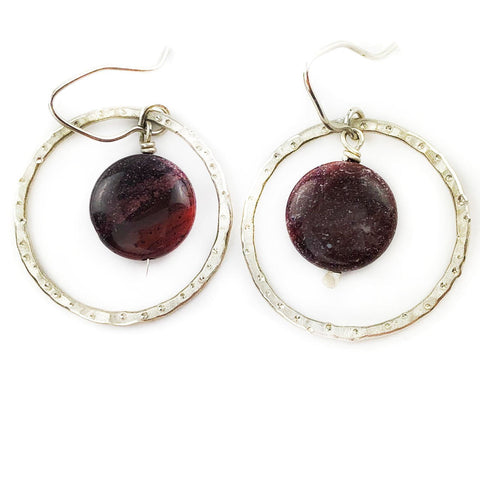 Galaxy Gazer Earrings - Mettle by Abby