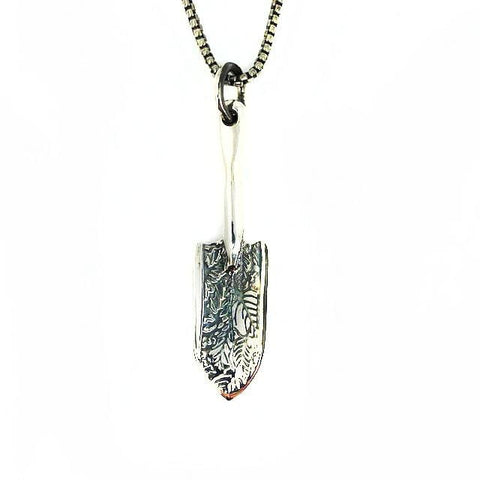 Garden Magic - Silver Shovel Necklace - Mettle by Abby