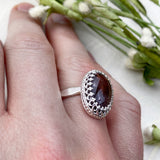 Large Ruby Ring for Women